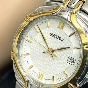 Seiko Women's Watch Quartz SXD646 Two Tone